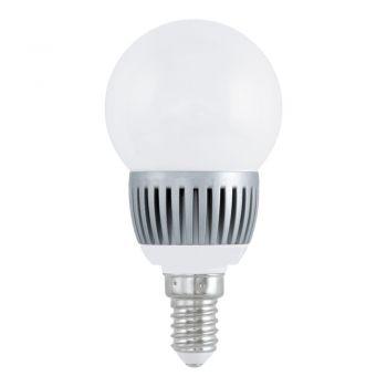 Becuri LED Lm-E14-Led Kugel 3W 4200K 1 Stk Eglo 11163