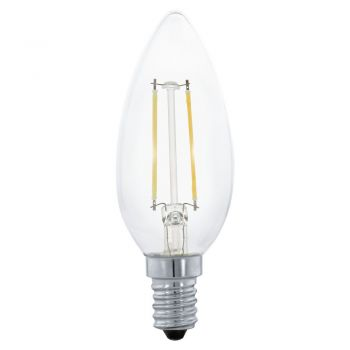 Becuri LED Bec Led E14 2W 3000K Eglo 11492