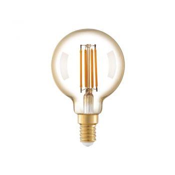 Becuri LED Lm-E14-Led G60 4W 2200K Amber 1 Stk Eglo 11782