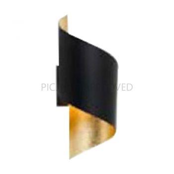 Corpuri iluminat Crystal Design Wl-1 E27 Schwarz-Gold 'Jabaloyas' Eglo 39654
