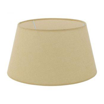 Iluminat Vintage Schirm E27 D350 Leinen Creme Eglo 78367