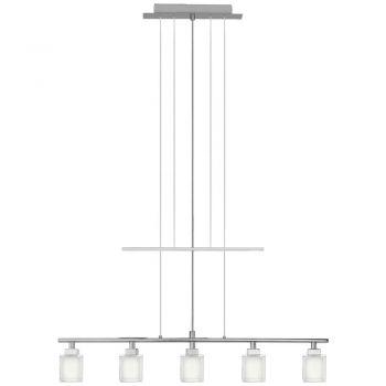 Corpuri de iluminat moderne Lustra 5X40W  G9  Crom  'Tanga' Eglo 86901