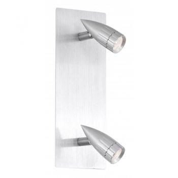 Iluminat Sina Spot 2X20W G4 Argintiu-Negru 'Penform' Eglo 88349