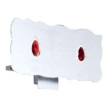 Corpuri de iluminat Aplica 2X40W G9 Nichel-Mat-Argintiu-Cris Eglo 88453