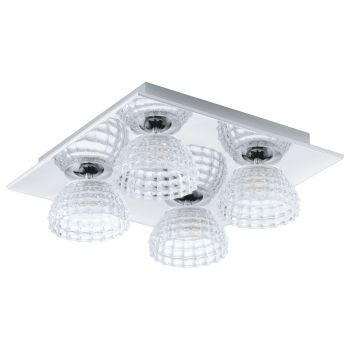 Banda LED-Dl-4 Chrom-Klar 'Frossini' Eglo 92216
