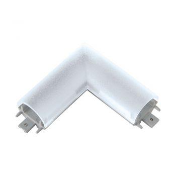 Banda LED Conector 90 Grade Argintiu Pentru Banda Eglo 92326