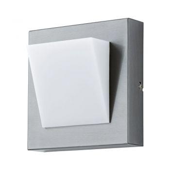 Corpuri de iluminat exterior Aplica Aluminiu 1 Bec Led Inox-Alb 'Calg Eglo 94114
