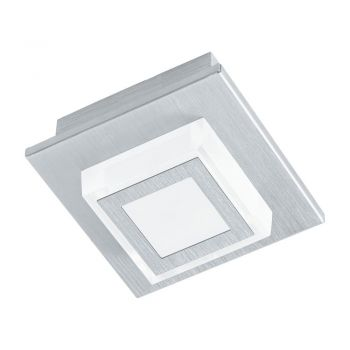 Aplice iluminat Aplica - Plafoniera 1 Bec Led Argintiu ' Eglo 94505