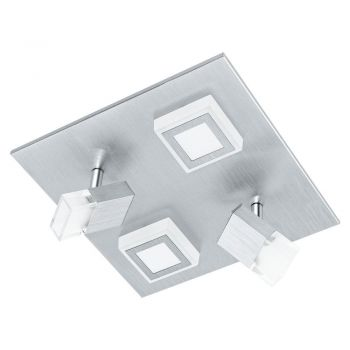 Aplice iluminat Aplica - Plafoniera 2-2 Becuri Led Argin Eglo 94512