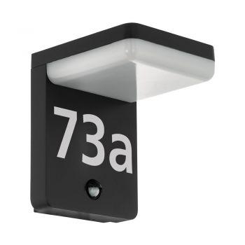 Corpuri de iluminat exterior Al-Led-Wl Sensor Anthr--Weiss 'Amarosi' Eglo 98092