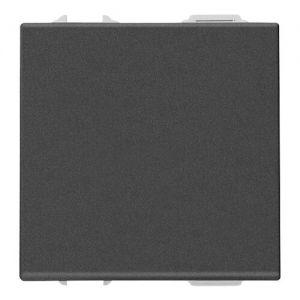Intrerupator 16A 2 Module carbon matt Vimar Neve UP 09001.2.CM