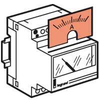 Contor Electric Ehipament Masurare Cadran Amperemetre 0-1250A Legrand 004666