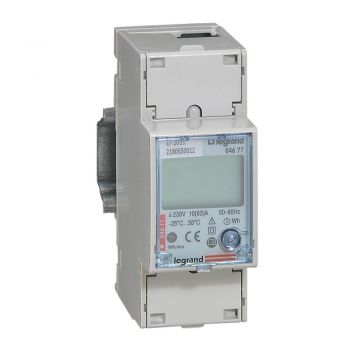 Contor Electric Ehipament Masurare Contor Energie Electrica 63A Mon 2Mod Rs485 Legrand 004677