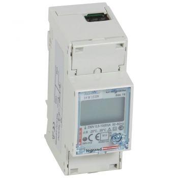 Contor Electric Ehipament Masurare Contor Energie Electrica 63A Mono 2Mod Mid Legrand 004678