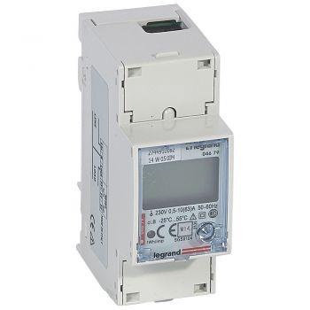 Contor Electric Ehipament Masurare Contor Energie Electrica 63A Mono 2Mod Mid Interfata Rs485 Legrand 004679