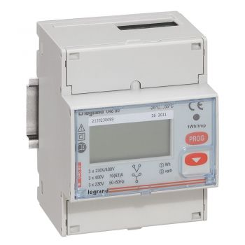 Contor Electric Ehipament Masurare Contor Energie Electrica 63A Tri 4Modul Rs485 Legrand 004680