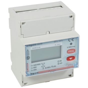 Contor Electric Ehipament Masurare Contor Energie Electrica 5A Ct Tri 4Mo Rs485 Imp Legrand 004684
