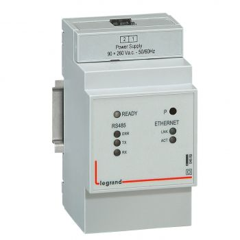Contor Electric Ehipament Masurare Gateway Rs485-Ethernet Legrand 004689