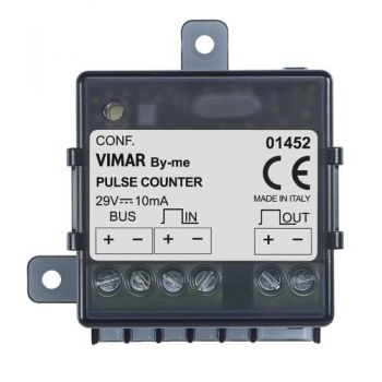 Impulse counter interface vimar Surface mounting equipments 01452