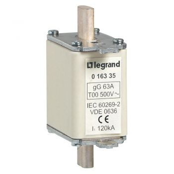 Sigurante Mpr Fuz-Mpr Cu Ind-63 A Tip Gg Legrand 016335