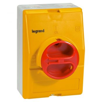 Intrerupator Rotativ Intrerup Separator 3P 25A Legrand 022173