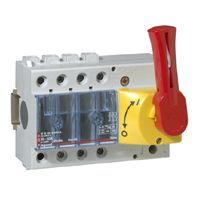 Separator Intrerupator Vistop 3P 63A Cde Front-Rouge Legrand 022312
