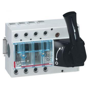 Separator Intrerupator Vistop 4P 63A Cda Front-Neagra Legrand 022515
