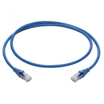 Priza date RJ45 Cat6 U-UTP patch cord - 0,5m vimar Net Safe 03019-05