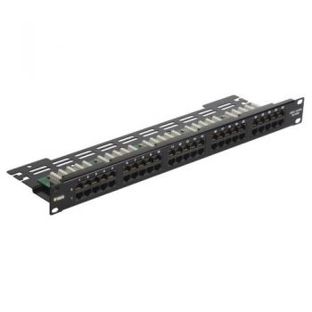 Patch panel - 50 RJ45 phone jacks 1u vimar Net Safe 03024-3