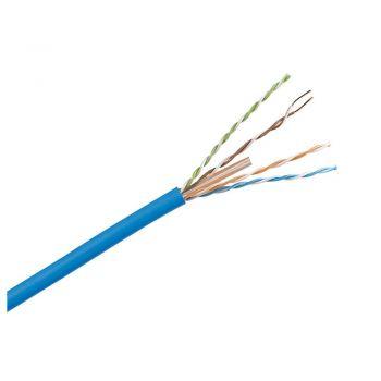 Cablu Audio Video Date Cablu U-Utp 6 Albastru Pvc Solid 4P Cutie 305M Legrand 032755