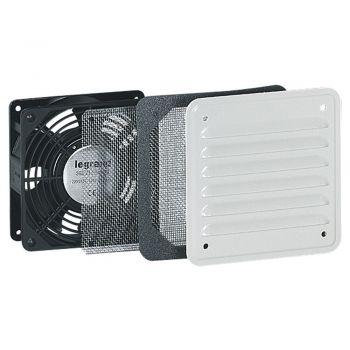 Accesorii Tablou Metalic Atlantic Ventilator 30-160 M3-H Ral7035 Legrand 034817