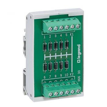 Accesorii Instalatii Module 10Diodes Cathcommune Legrand 036630