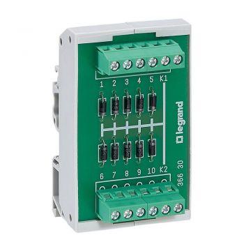 Accesorii Instalatii Modul 10 Diode Cu Anod Comun Legrand 036632