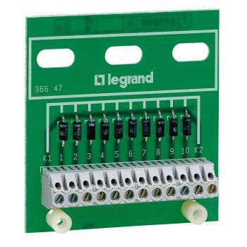 Accesorii Instalatii Platine 10 Diodes Legrand 036647