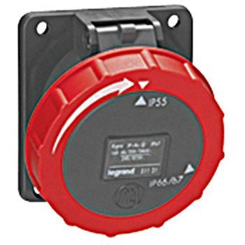 Prize Si Fise Industriale Hypra Soclu Tablou 3P-Plus-T 16A 380-415V Legrand 051130