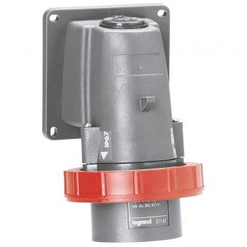 Prize Si Fise Industriale Hypra Socle Connect-3P-Plus-N-Plus-T 16A 400V Legrand 051191