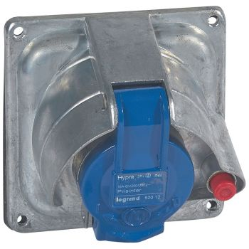 Prize Si Fise Industriale Hypra Prisinter 2P-Plus-T 16A 230V Metal Legrand 052012