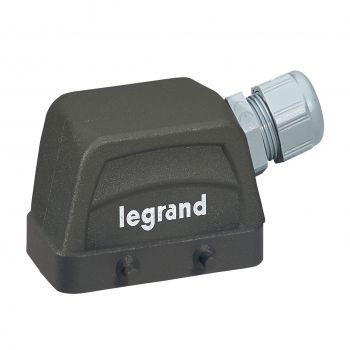 Conector Multipolar Industrial Kit Sortie A Droite 16A 10P Legrand 052601