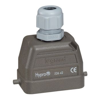 Conector Multipolar Industrial Kit Sortie Haute 16A 6P Legrand 052610