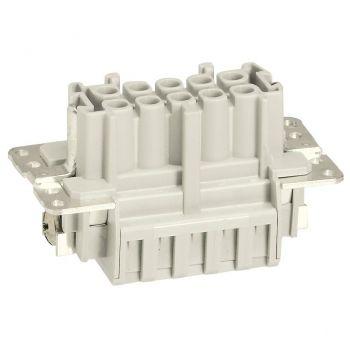 Conector Multipolar Industrial Kit Connexion Auto 10P Legrand 052621