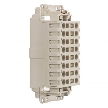 Conector Multipolar Industrial Kit Connexion Auto 16P Legrand 052622