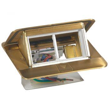 Doza Pardoseala Pop-Up Pop-Up Boxes Finisaj Bronz 4 Module Legrand 054016