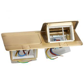 Doza Pardoseala Pop-Up Pop-Up Boxes Finisaj Bronz 6 Module Legrand 054017