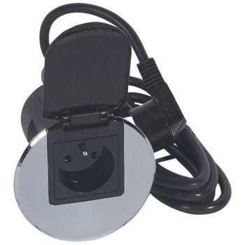 Echipament Birou Mod Bur 1Pc Fb Metal Cable 2M Legrand 054052
