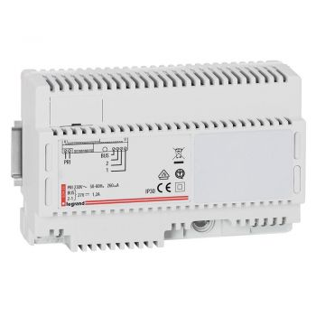 Accesorii Interfoane Sursa Alim 2 Fire Legrand 063435