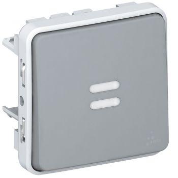 Legrand Plexo Intrerupator Cap Scara Lumina Control 16A Ip55 Ik07 Gri Legrand 069524