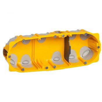 Doza Aparataj Ecobatibox 3-Post Sau 6-8M Gips-Carton Adanc-40Mm Montaj Ingropat Legrand 080023