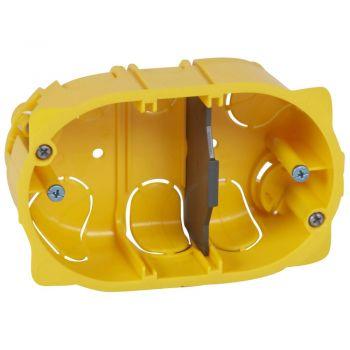 Doza Aparataj Batibox St-Italian 3M Gips-Carton Adanc-40Mm Montaj Ingropat Legrand 080049