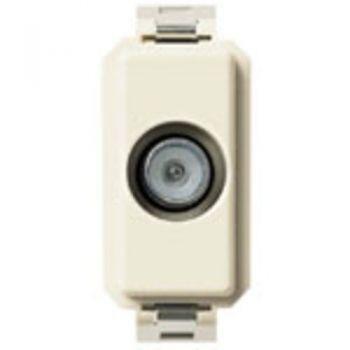 Priza TV-RD-SAT single conn male outlet 1dB vimar 8000 08190-01