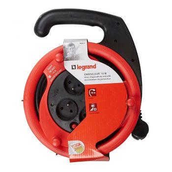 Derulator Cablu Electric Enroul-2P-Plus-T 15M 3X1-5 -Plus-Disj-Legrand 090971
